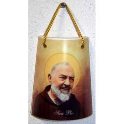 Tegola Padre Pio cm 7.5x6