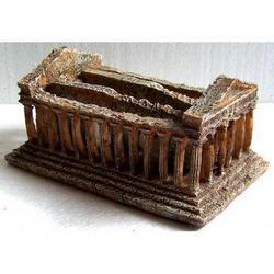 Tempio di Agrigento in resina cm 15x9x7