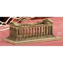 Tempio Greco in resina da cm 20x13x8