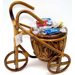 Triciclo in legno cm 27x15x27