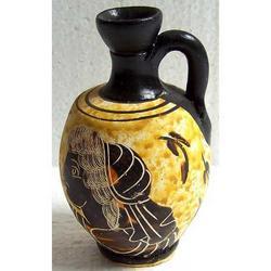 Vaso Greco in terracotta cm 8