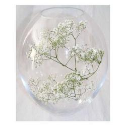 Vaso ovale in Cristallo di Boemia cm 25 art.23-005