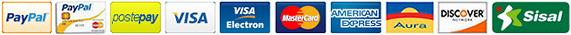 Effettua i tuoi pagamenti con PayPal, un sistema rapido, gratuito e sicuro.